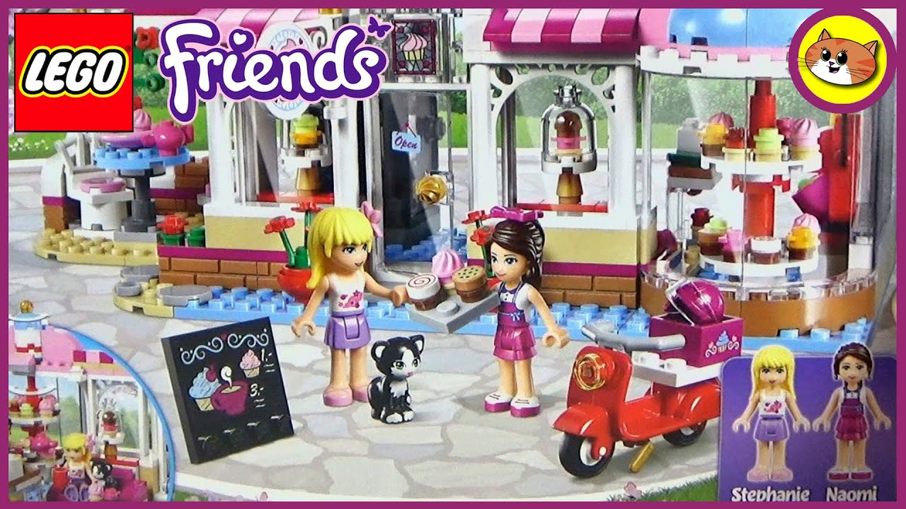 Lego Friends Cafe Review