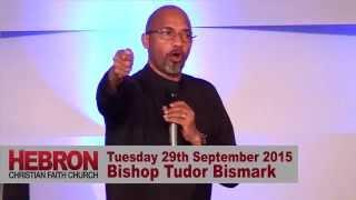 Bishop Tudor Bismark @ Hebron Christian Faith Church, Coventry, UK