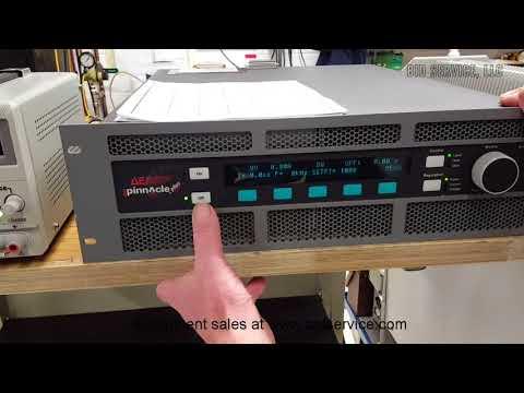 Advanced Energy Pinnacle Plus DC Power Supply #62248