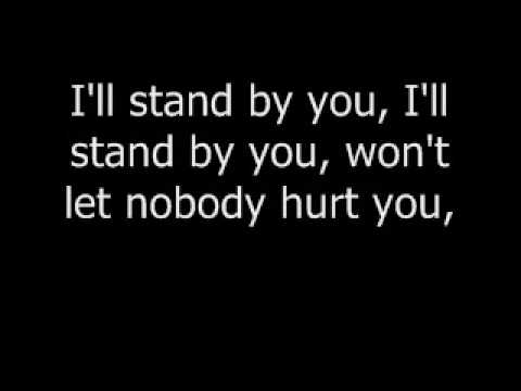 "Carrie Underwood ""I'll stand by you!"" lyrics"