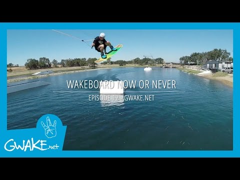 #12 - Wakeboard Now or Never - Cable Wakeboard - Tricks