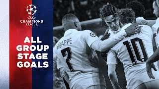 CHAMPIONS LEAGUE : ALL GROUP STAGE GOALS