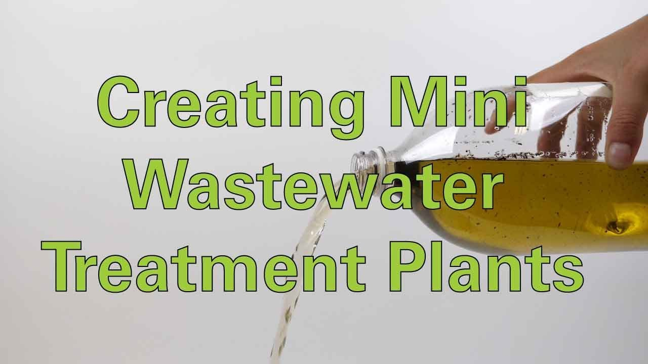 Creating Mini Wastewater Treatment Plants - Activity