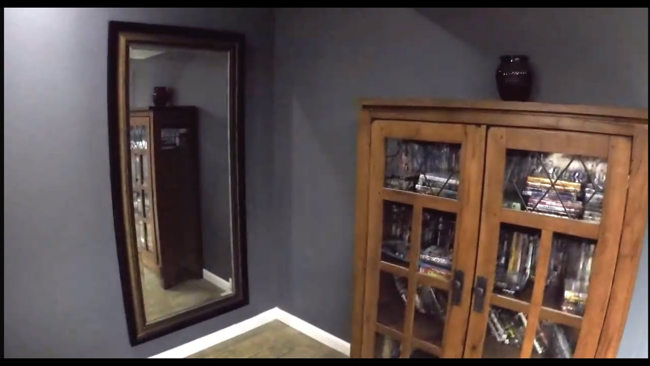 Very cheap an easy secret room safe youtube for How to build a gun safe room