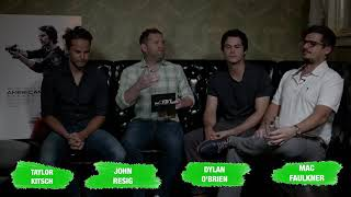 Video Taylor Kitsch American Assassin interview@theCHIVE download MP3, 3GP, MP4, WEBM, AVI, FLV September 2017
