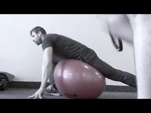 Splits Progression, Hip Activation, Swiss Ball Stretching