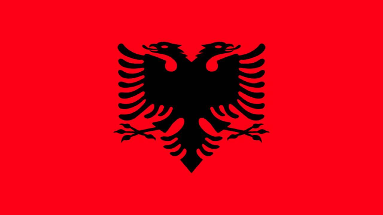 Contemporáneo Colorear Bandera De Albania Imágenes - Enmarcado Para ...