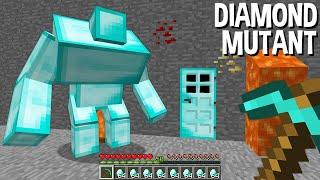 ONLY 1 In 100 CAN OPEN This DIAMOND MUTANT DOOR In Minecraft !!!