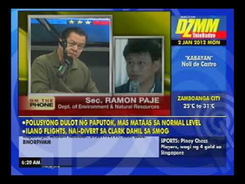 Kabayan-DENR Sec. Ramon Paje