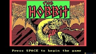 The Hobbit gameplay (PC Game, 1983)
