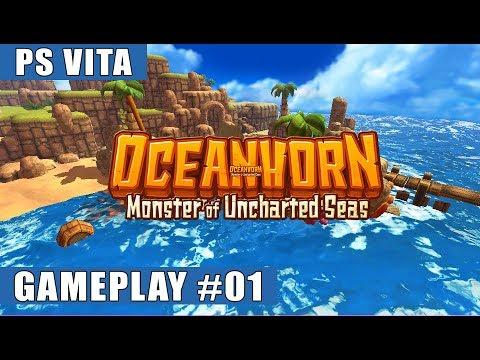 Oceanhorn: Monster Of Uncharted Seas PS Vita Gameplay #1 (Hermit's Island, Tikarel)