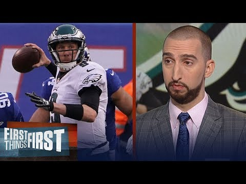 Eagles still looking like Super Bowl contenders with Nick Foles as QB? | FIRST THINGS FIRST