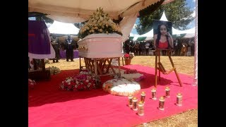 IVY WANGECHI BURIAL,,,MOTHER'S TOUCHING MESSAGE TO THE LATE DAUGHTER