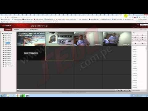 Remote Access to Hikvision DVR/NVR Latest windows 10