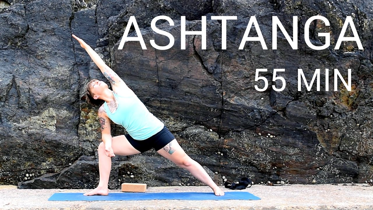 Ashtanga 55 min auf deutsch | Primary Series | Ashtanga Yoga - YouTube