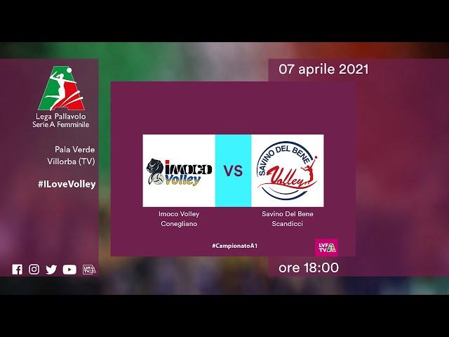 Conegliano - Scandicci | Speciale | Gara1 Semifinale Playoff | Lega Volley Femminile 2020/21