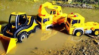 Мультики про машинки. Синий трактор и строительная техника. Детские мультики. Машинки.