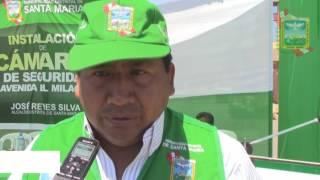 JOSÉ REYES CONTINÚA CON LAS GESTIONES PARA DOTAR DE CÁMARAS DE VIDEO AL DISTRITO CAMPIÑERO