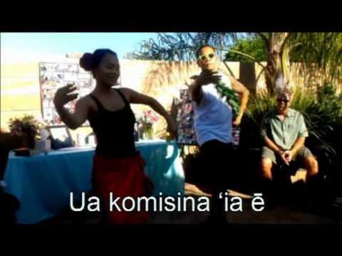 Jonathan and Thuy Dancing Hula to Na Vaqueros.mpg