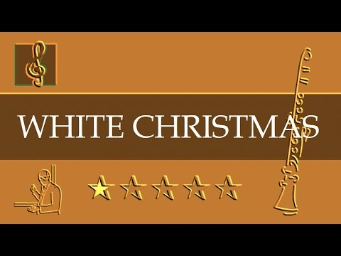 Clarinet Notes Tutorial - Christmas song - White Christmas (Sheet Music)