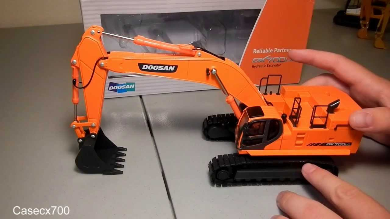 1 50 Scale Doosan Dx700lc Review Youtube