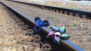 Train Vs Fidget Spinner EXPERIMENT