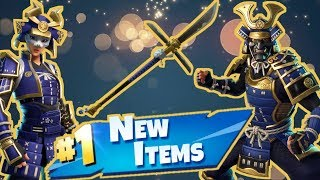 NEW Samurai Skins! Fortnite Live Stream!