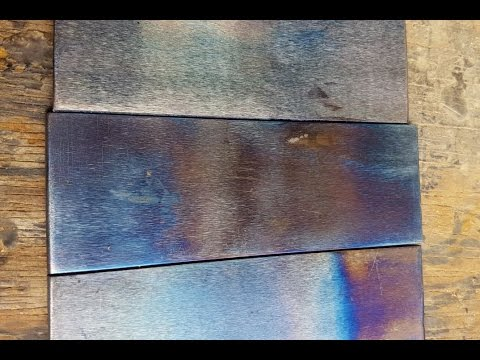 How To Temper Colours In Steel Youtube