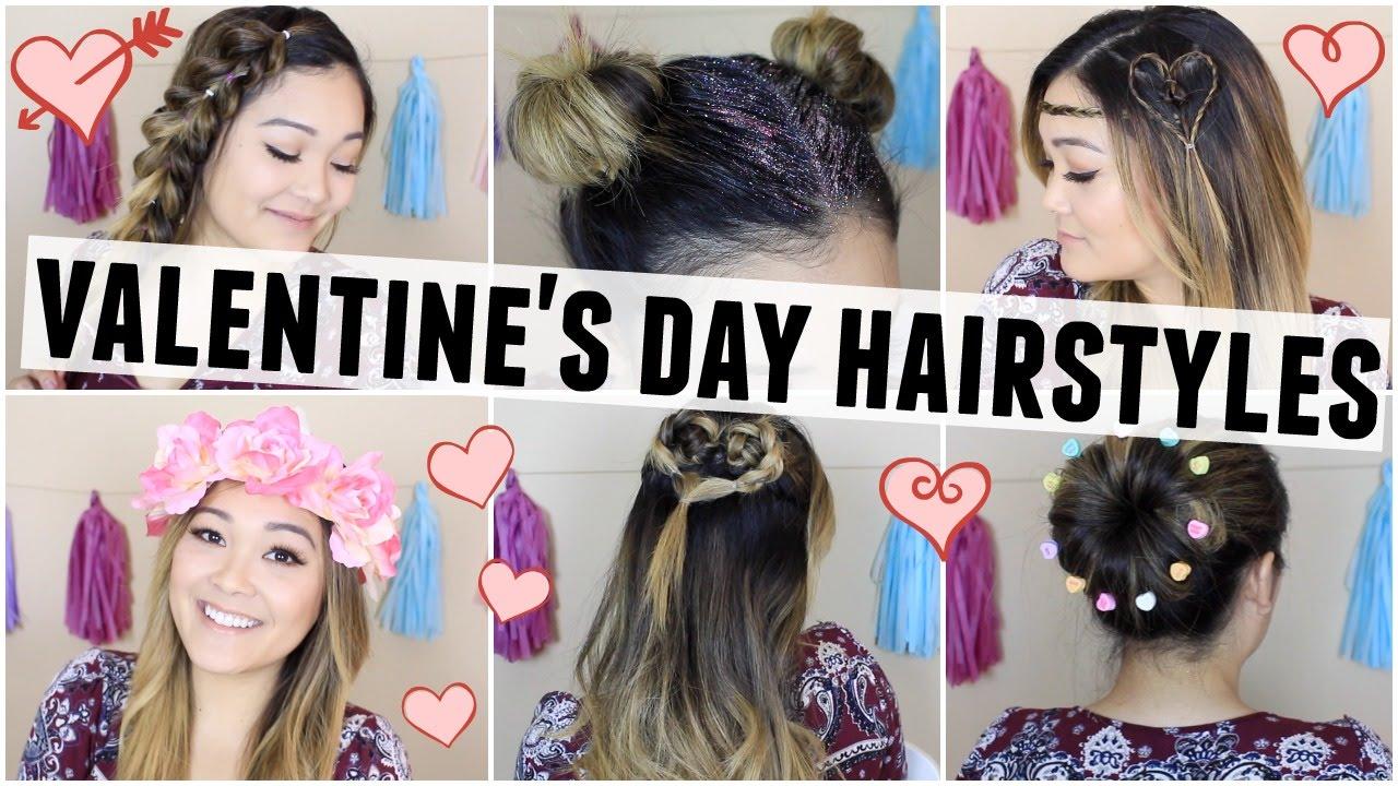 valentine's day hairstyles 💕 | jaaackjack