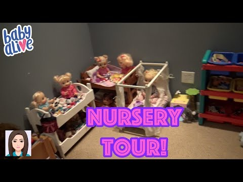 Updated Baby Alive Nursery Tour! New...
