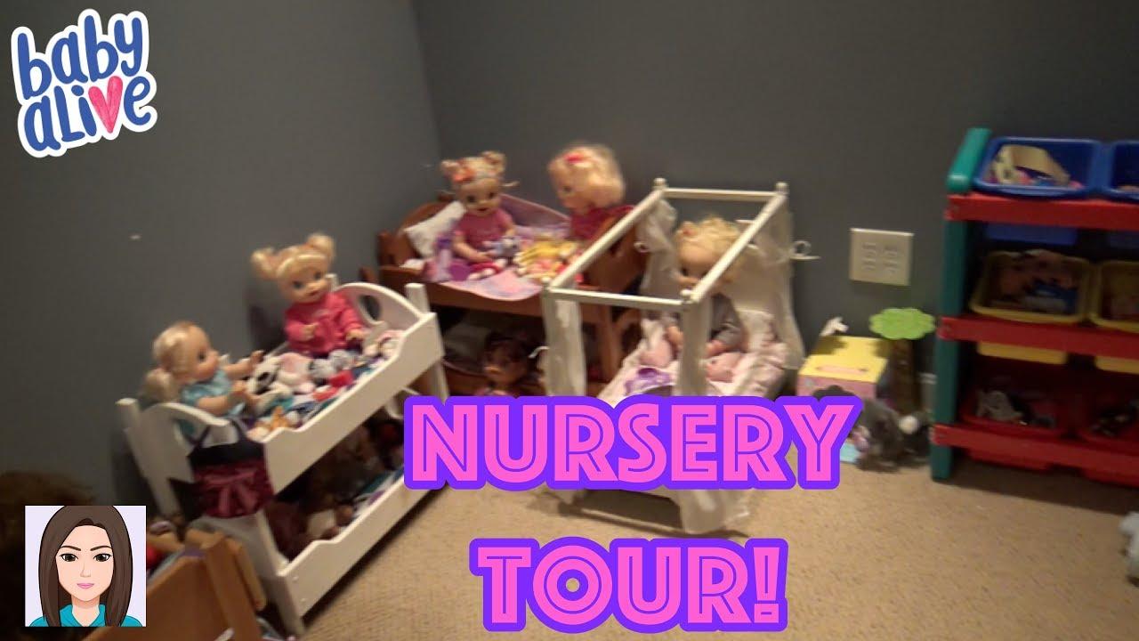 Updated Baby Alive Nursery Tour New Nursery Youtube
