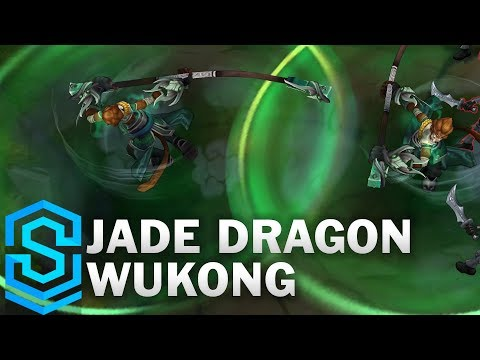 Jade Dragon Wukong (2020) Skin Spotlight - League of Legends