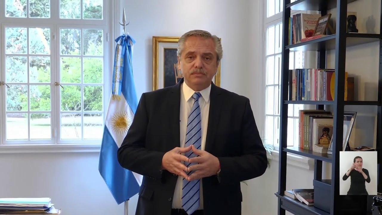 Anuncio del presidente Fernández: nueva etapa de aislamiento sanitario y distanciamiento social