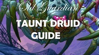 How to play Taunt Druid (Hearthstone Boomsday deck guide)