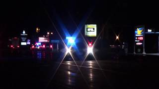 Pedestrian struck and killed by transport truck on Highway 7
