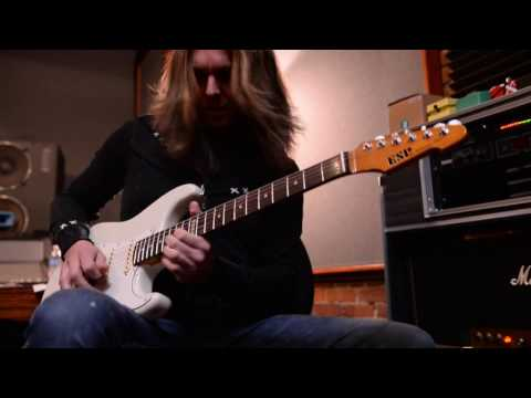 "We Are Harlot - Jeff George -  Recording ""Dirty Little Thing"" Guitar Solo"