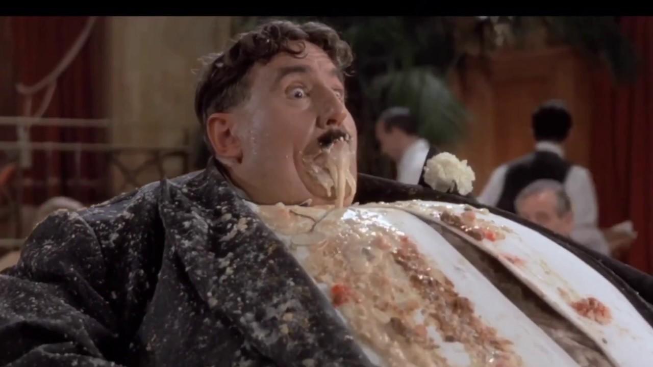 Fat man explodes - YouTube