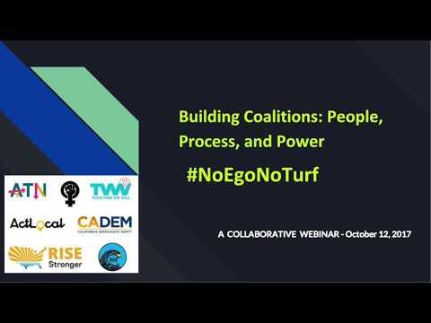 Building Coalitions #NoEgoNoTurf