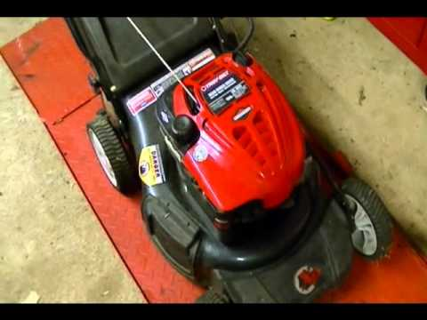 Gas Lawnmower on 87 octane Dieseling due to engine temp... | Doovi