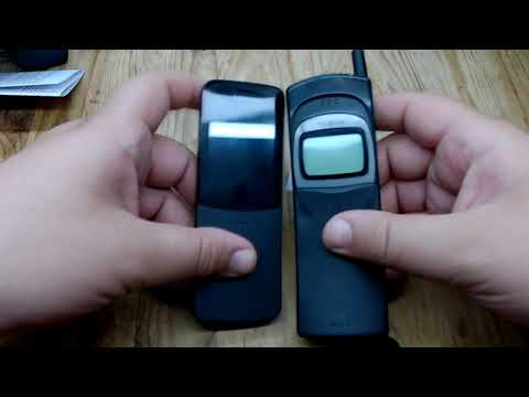 Unboxing and comparison of the old and new Nokia 8110