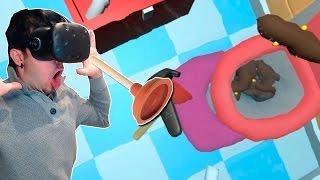 CACA POR TODAS PARTES!! PIPEJOB VR (HTC VIVE VR)