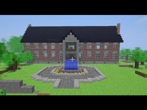 How to build a mansion in minecraft xbox 360 edition youtube for Modern house minecraft xbox 360 edition
