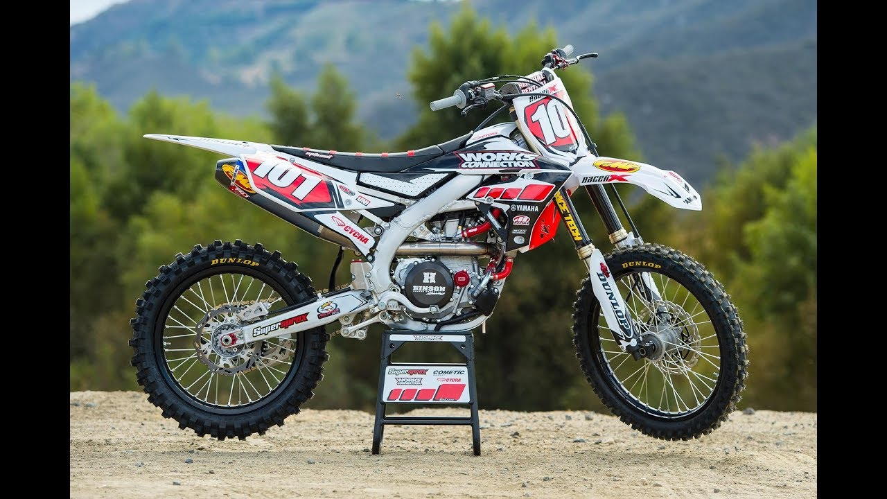 Racer X Films: Garage Build 2018 Yamaha YZ450F