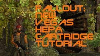 Fallout: New Vegas Vault 22 HEPA cartridge