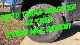 Nitto Terra Grappler G2 Tires 29k Mile Review