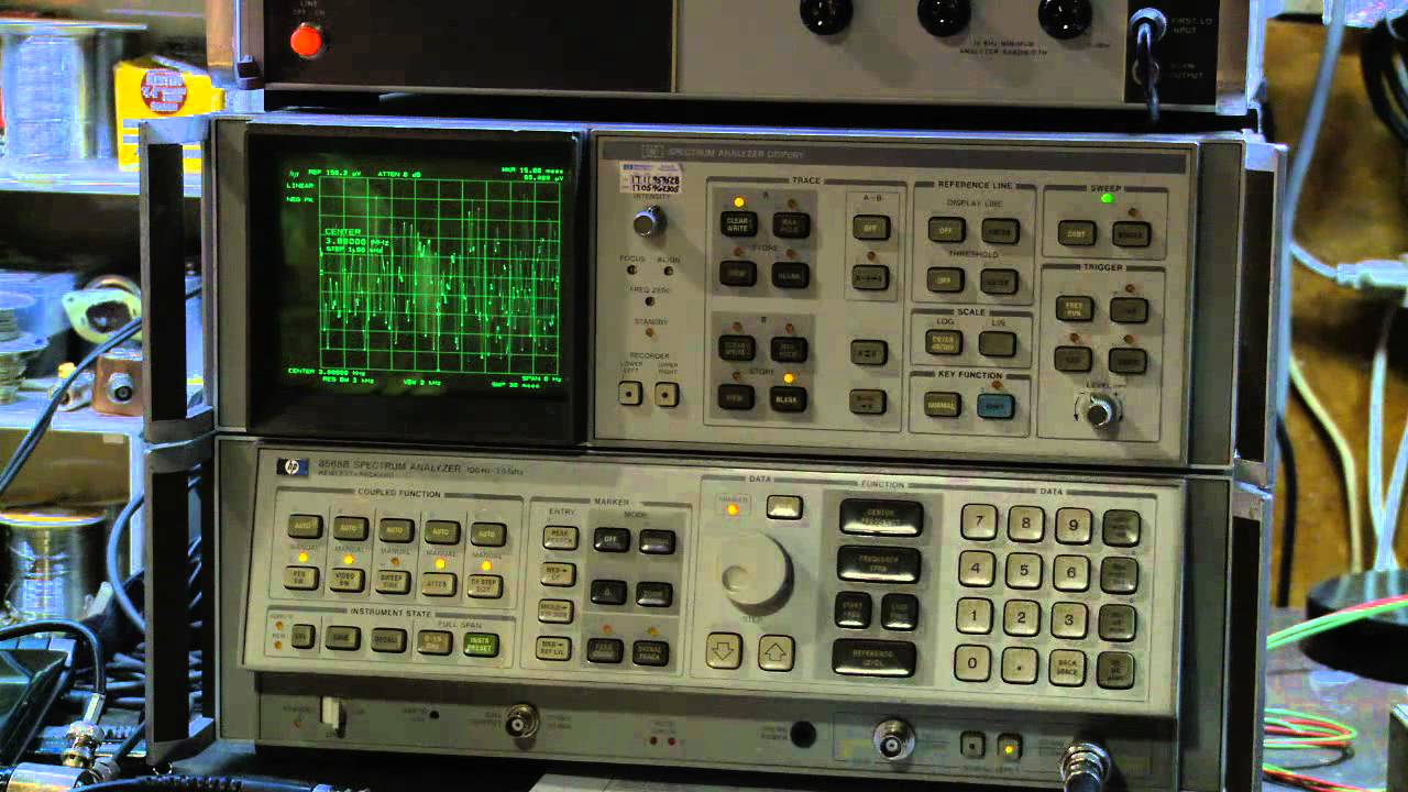 Hp 8568b Spectrum Analyzer Receiving Wa1hlr
