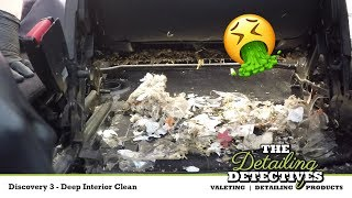 LandRover Discovery Deep Clean