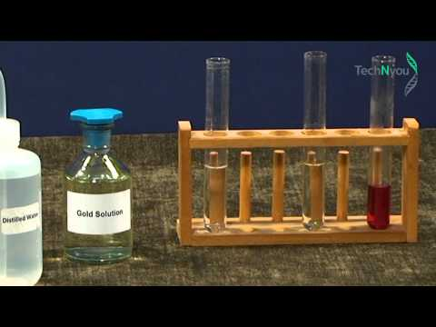 MAKING GOLD NANOPARTICLES