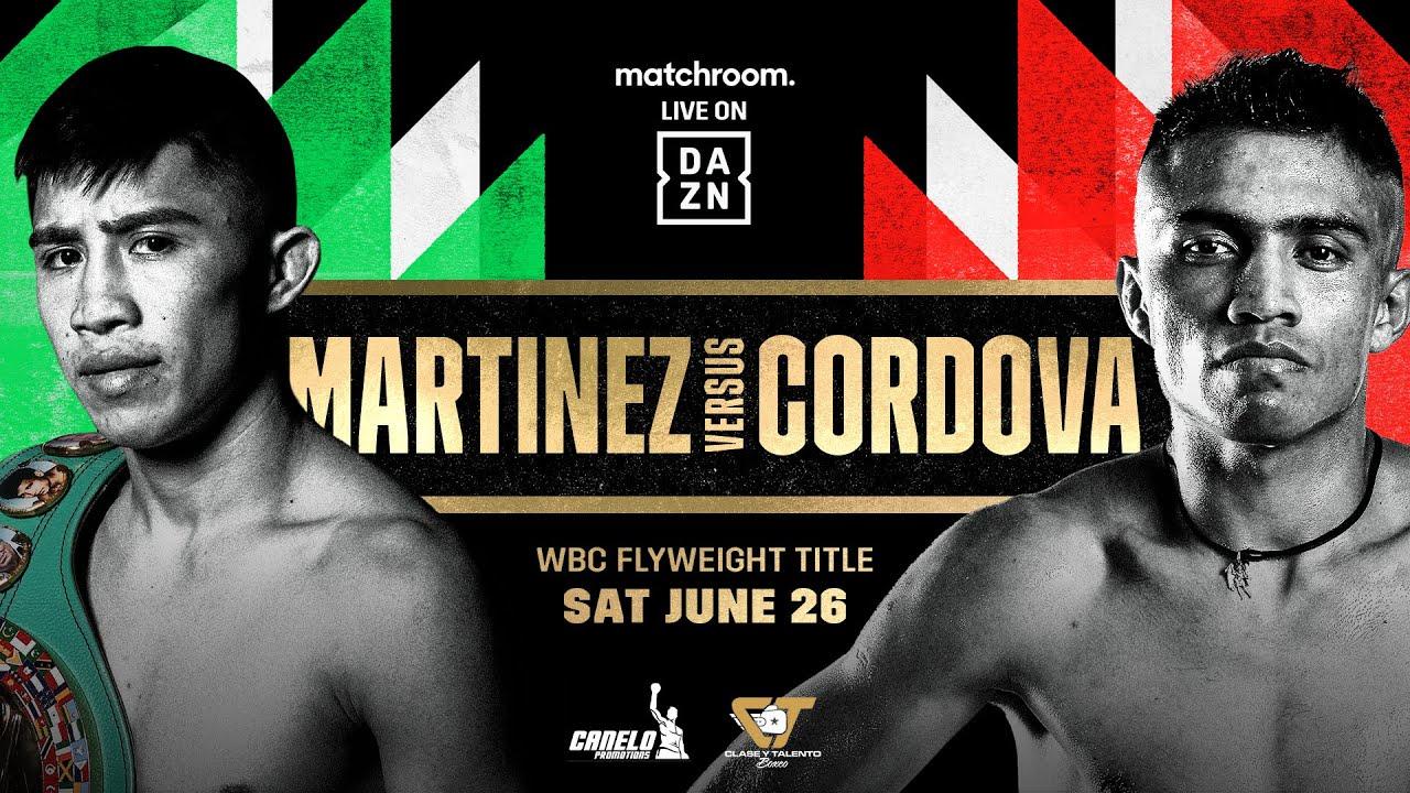 Julio Cesar Martinez vs. Joel Cordova: A Mexican Style Showdown in Guadalajara