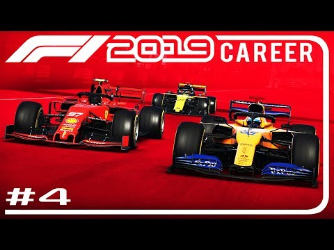 F1 2019 Career Mode Part 4   SOFTS LAST 3 LAPS?!   Chinese GP